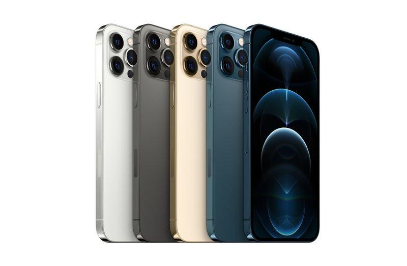 iPhone 12 Pro Maxin värivaihtoehdot