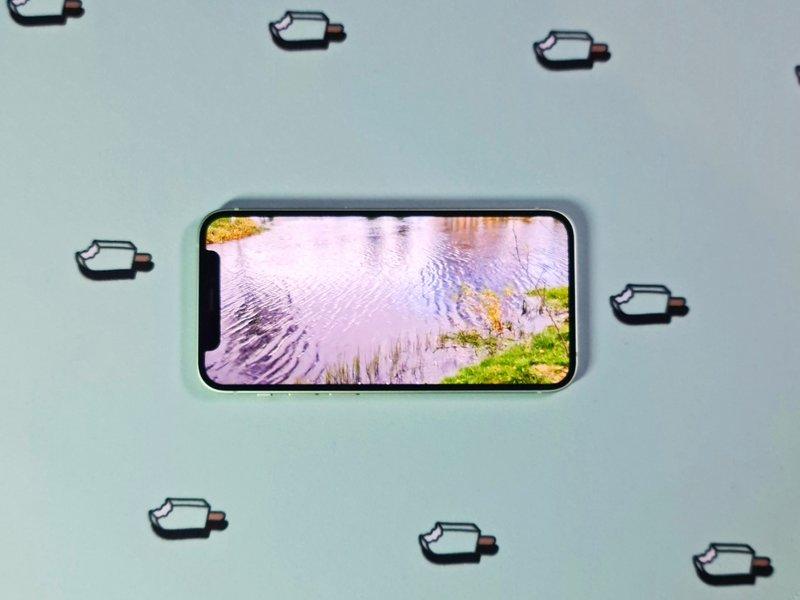 iPhone 12 minin näytön näyttölovi