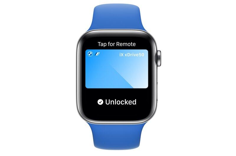 WatchOS 8 tuo tuen digitaalisella autonavaimelle