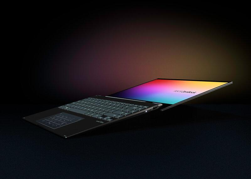ZenBook Flip 13 näyttö kääntyy eri asentoihin