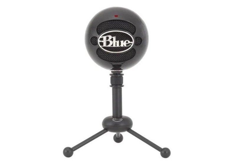 Blue Snowball mikrofoni mustana