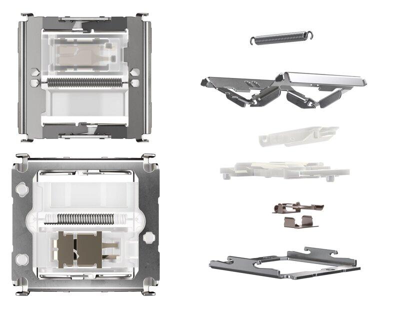 MX Ultra Low Profile kytkimen rakenne