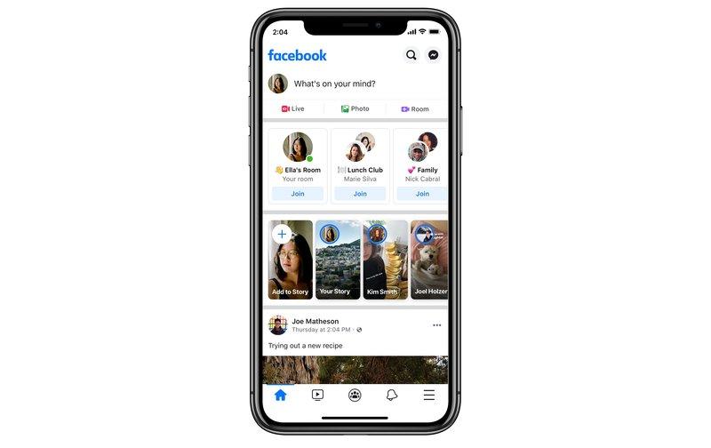 Messenger roomsiin voi liittyä vaikkapa facebookin uutisvirran kautta