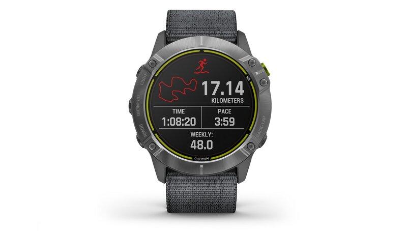 Garminin Enduro GPS -älykello edestä kuvattuna