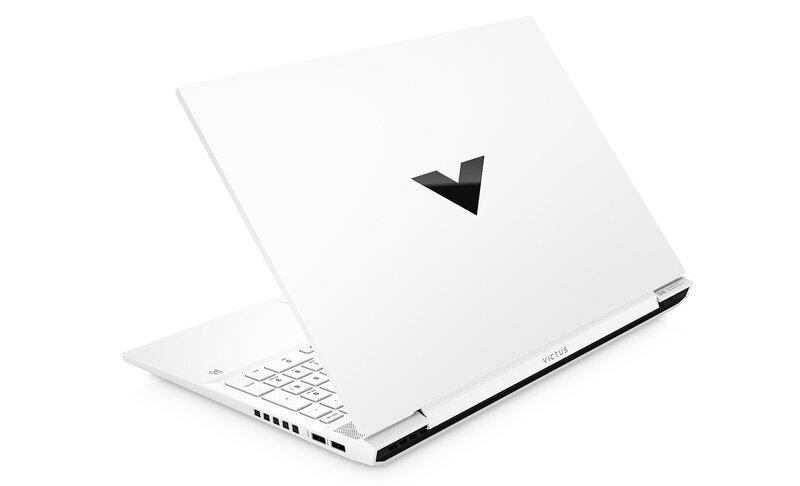 Victus by HP 16 kannettava tietokone valkoisessa värissä