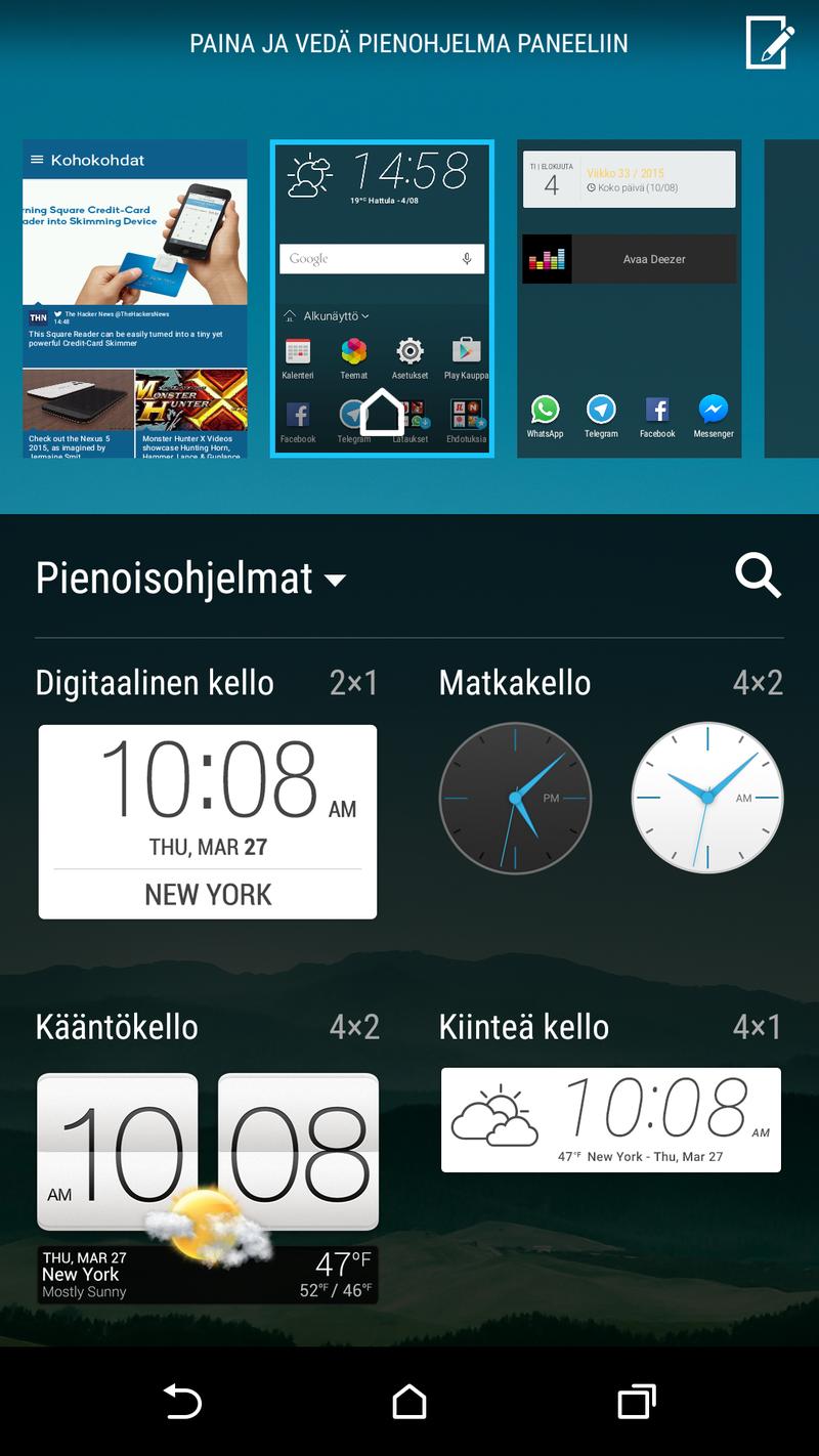 HTC One M9 - Ohjelmisto