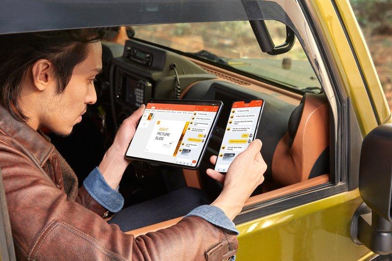 MatePad Pro tukee muun muassa multi-screen -toimintoa