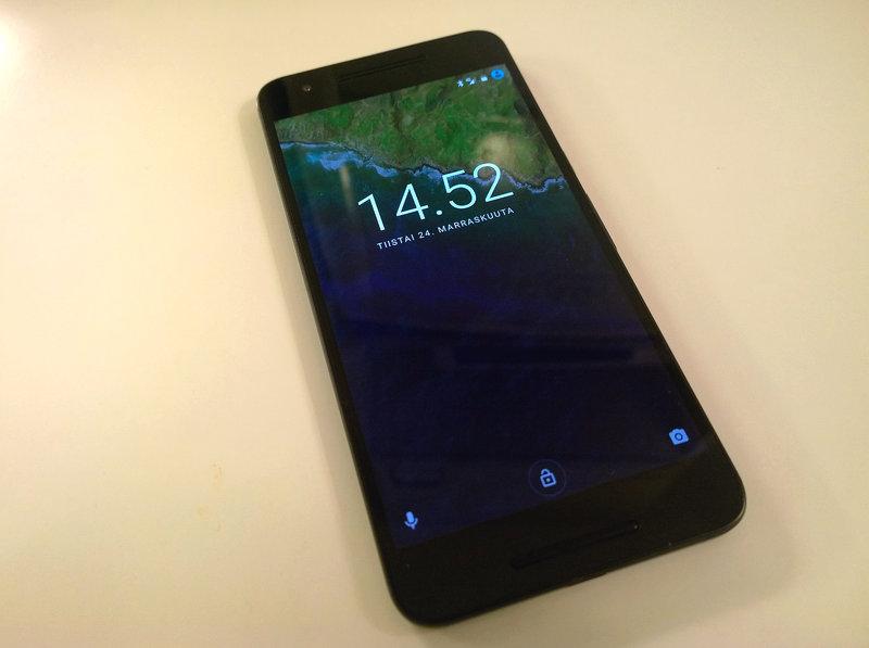 Huawei Nexus 6P edestä