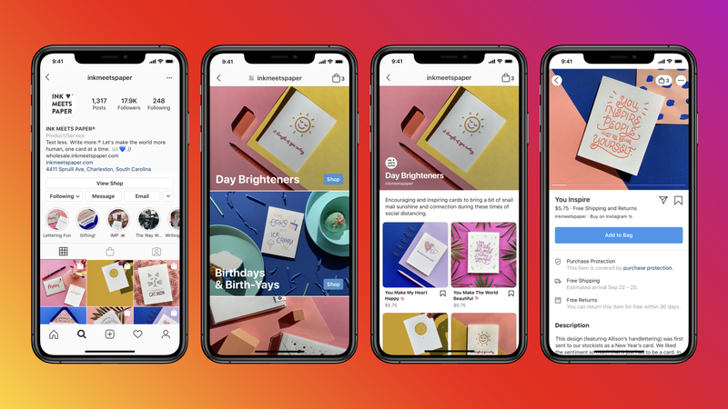 Instagram Shop tekee kaupanteon helpoksi Instagramin puolella