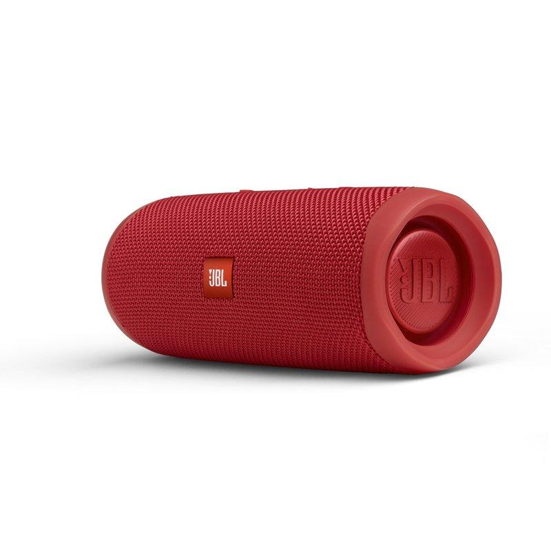 JBL Flip 5 kaiutin punaisessa värissä