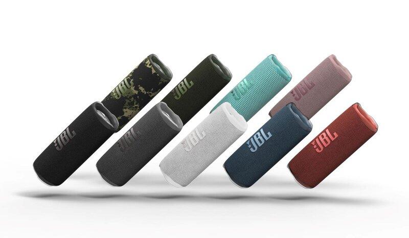 Flip 6 kaiutin useissa eri värivaihtoehdoissa