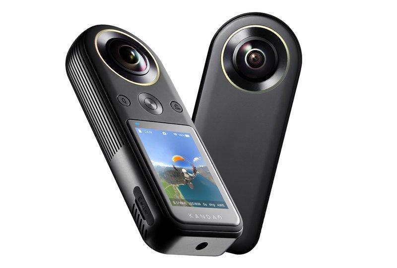 Kandao QooCam sisältää kaksi kameraa ja näytön