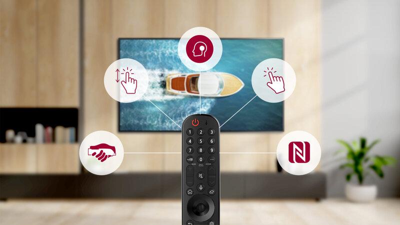 LG:n Magic Remote -kaukosäädin sai päivitetun ulkoasun alustan päivityksen myötä