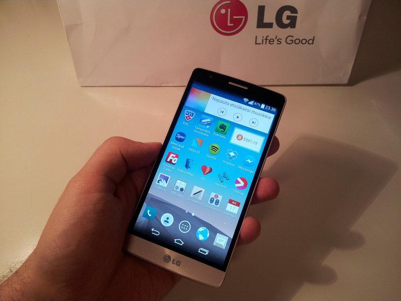 Testissä LG 3G s