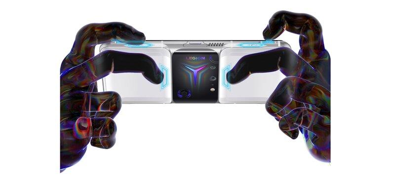 Legion Phone Duel 2 pelipuhelin sisältää 8 virtuaalista painiketta