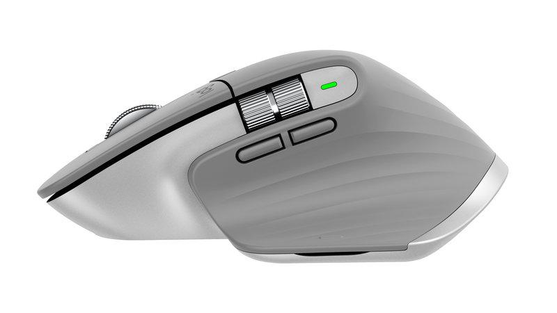 Logitech MX Master 3 hiiressä on paranneltu peukalorulla
