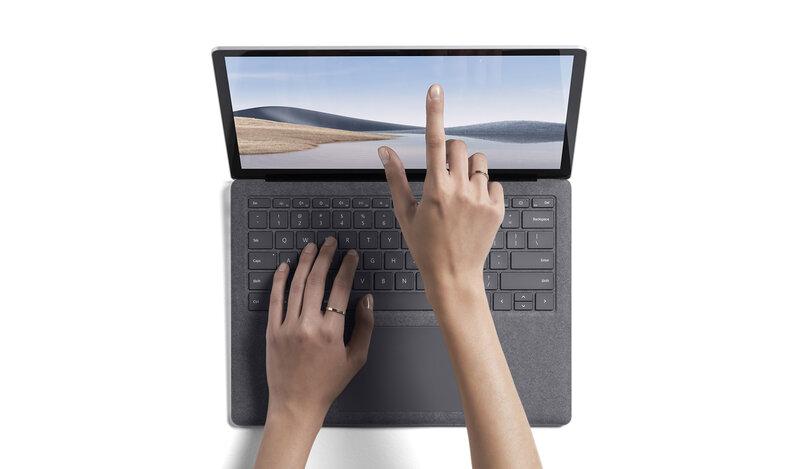 Surface Laptop 4 sisältää kosketusnäytön