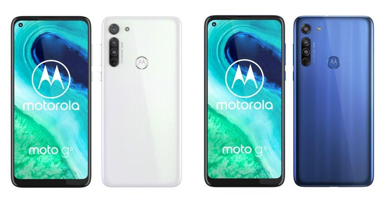 Moto g8 tulee saataville kahdessa värissä