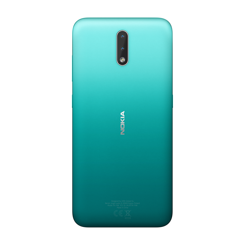 Nokia 2.3 takaa löytyy kaksi kameraa