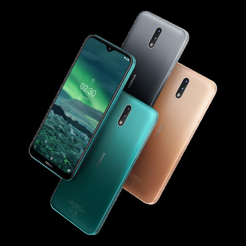 Nokia 2.3 saapuu myyntiin kolmessa värissä
