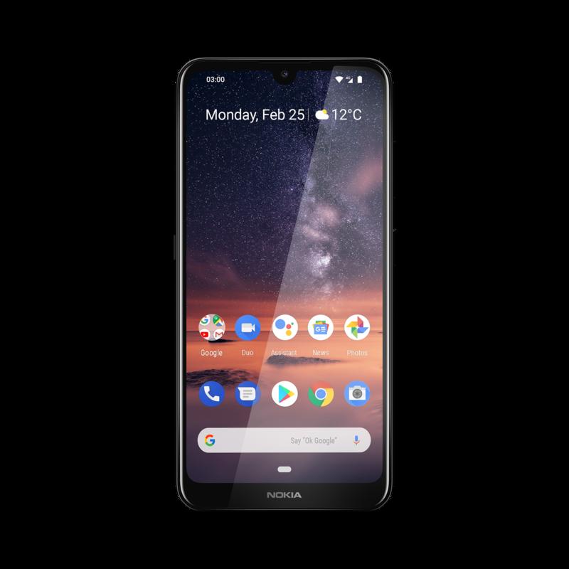 Nokia 3.2 sisältää ison akun