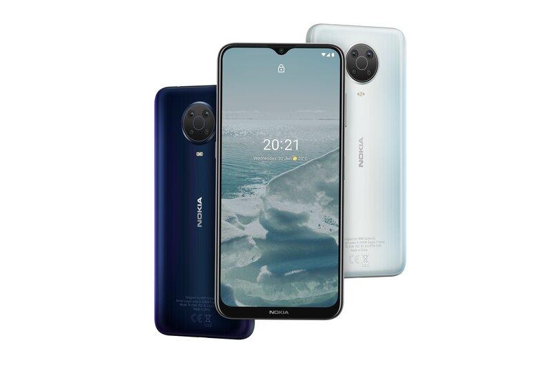 Nokia G20 eri väreissä
