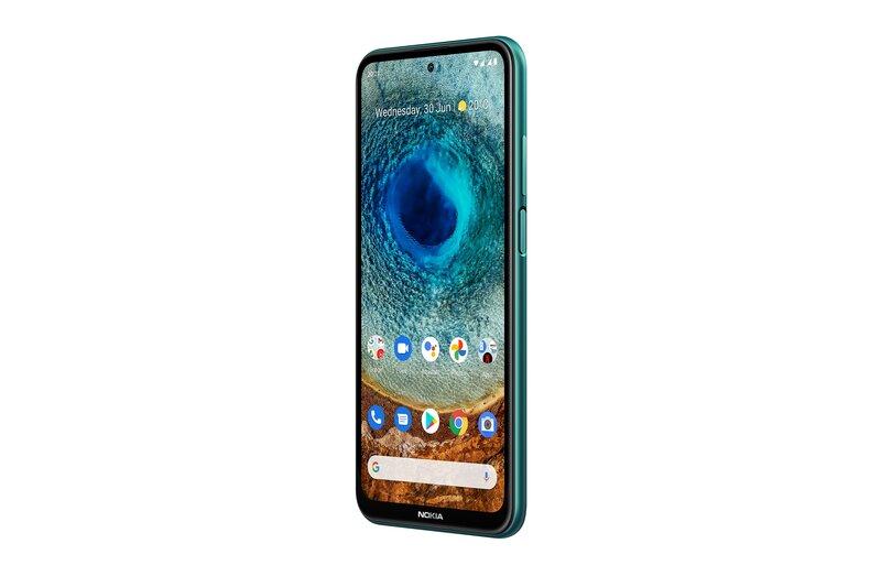 Nokia X10 näyttö päällä