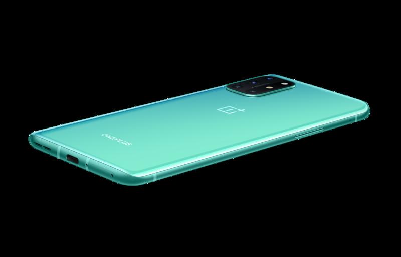 OnePlus 8T vihreässä värissä