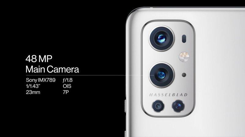 OnePlus 9 Pro pääkameran tiedot