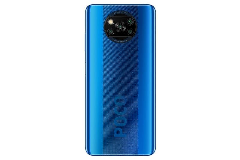 Poco X3 NFC sinisessä värissä