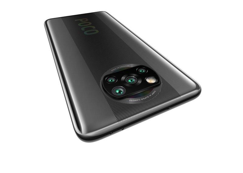 Poco X3 NFC puhelimen kamerat