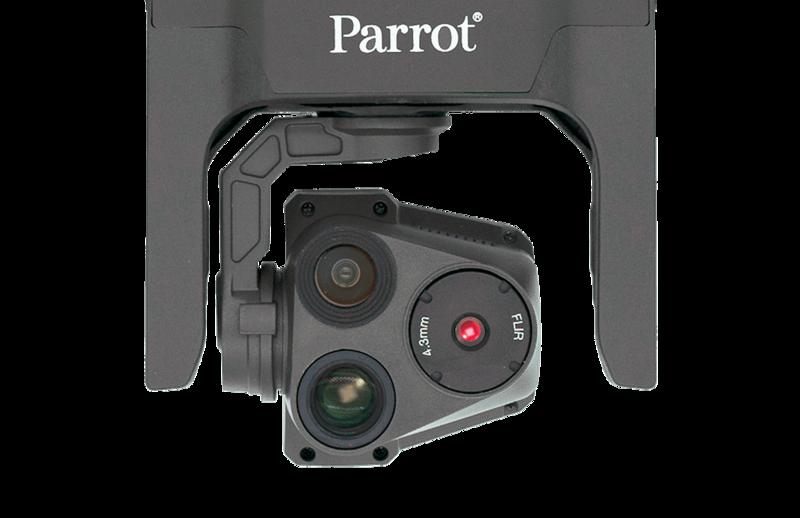 Parrot Anafi usa kopterin kamerat