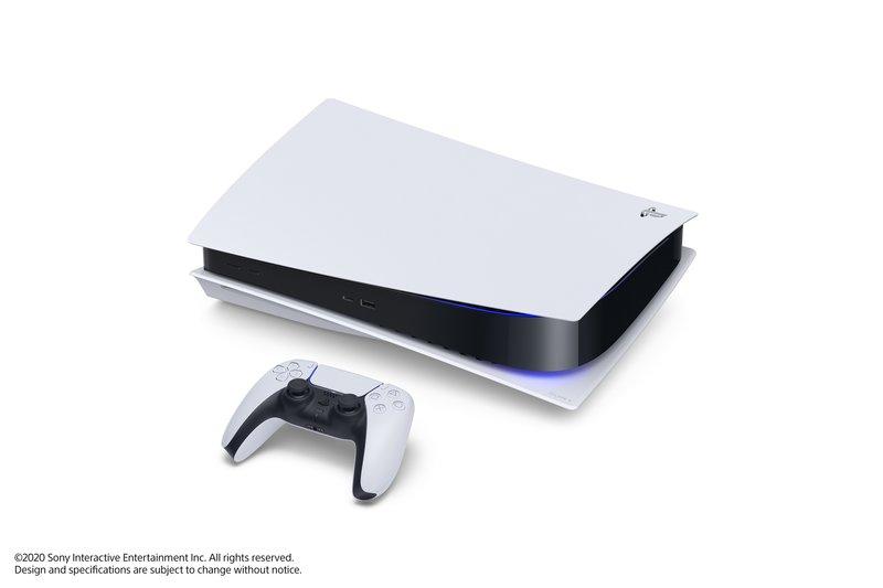 PlayStation 5 voidaan asettaa kyljelleen