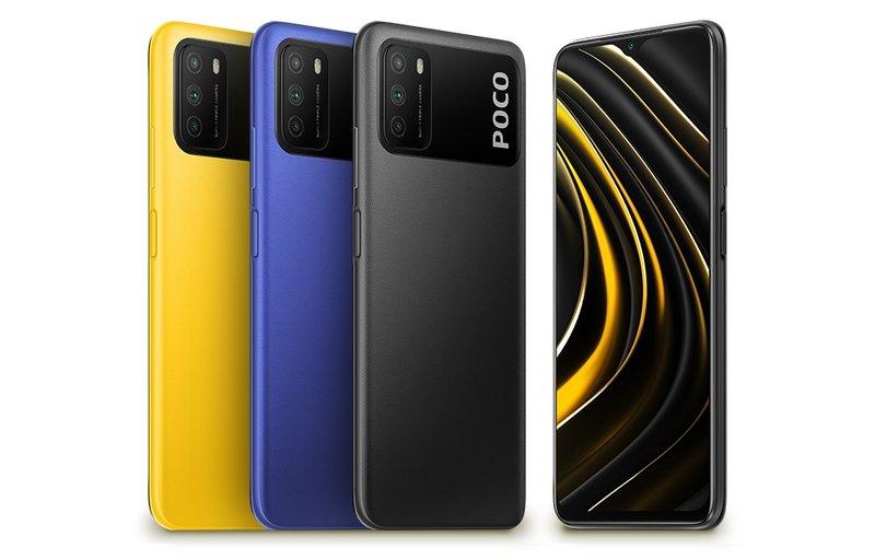 Poco M3 eri väreissä