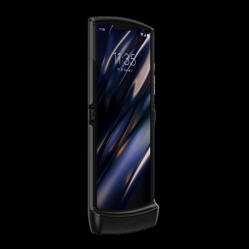 Motorolan Razr puhelimen näyttö on kooltaan 6,2 tuumaa avattuna