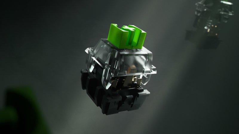 BlackWidow V3 näppäimistön mekaaninen kytkin