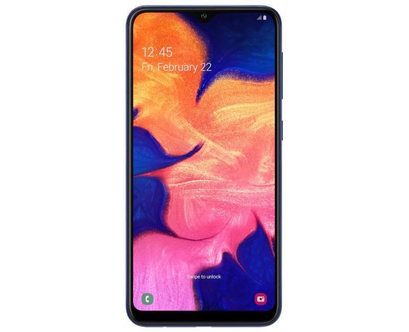Galaxy A10 on yksi Samsungin edullisimmista puhelimista