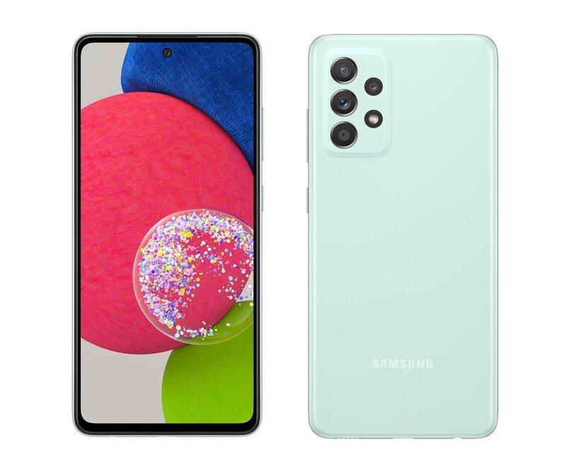 Galaxy A52s 5G mintunvärissä