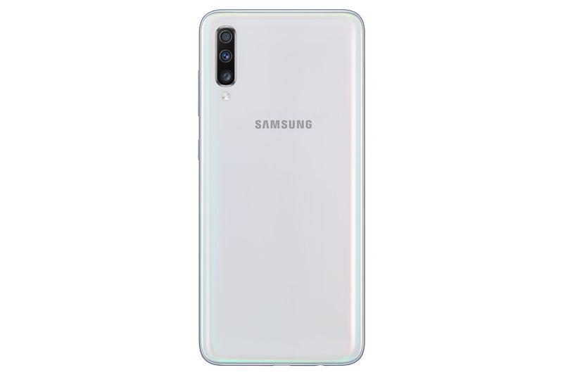Galaxy A70 käyttää kuvaukseen kolmea kameraa
