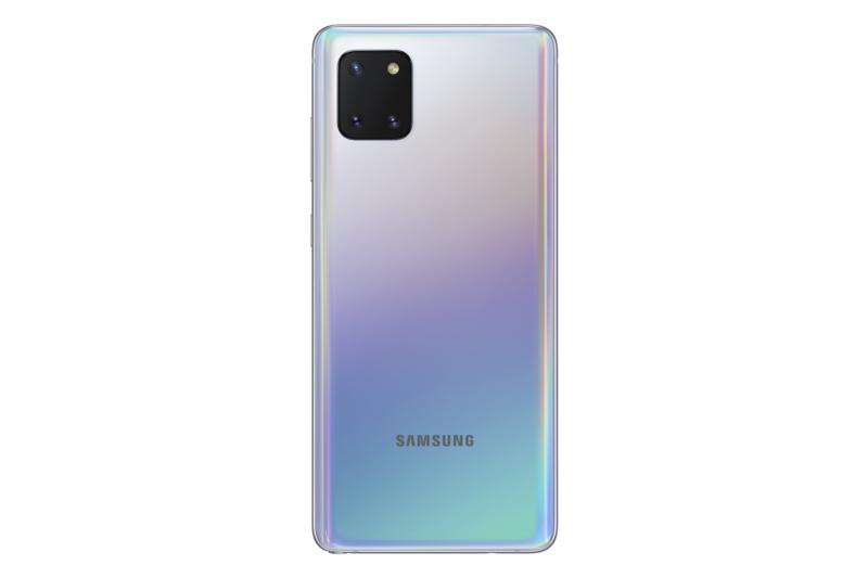 Galaxy Note10 Liten takana on kolme kameraa