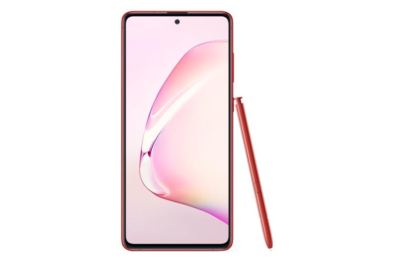 Note10 Lite S Pen kynän kanssa