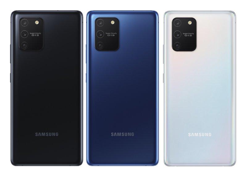 S10 Lite tulee saataville kolmessa eri värissä