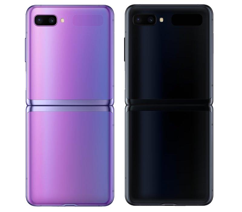 Samsung Galaxy Z Flip on myynnissä kahdessä värissä