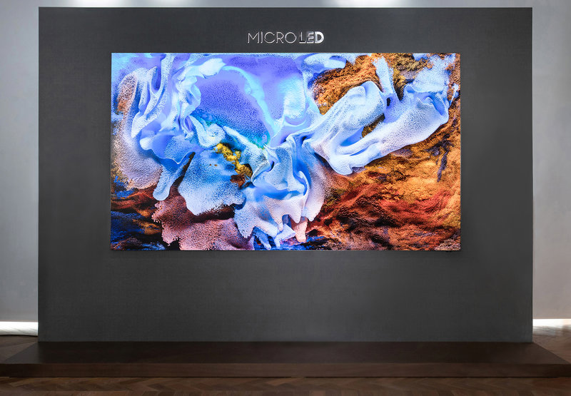 No borders with this MicroLED TV
