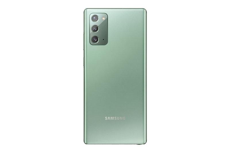 Galaxy Note20 vihreässä värissä