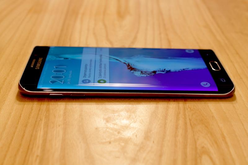 Samsung Galaxy S6 edge+ - näyttö