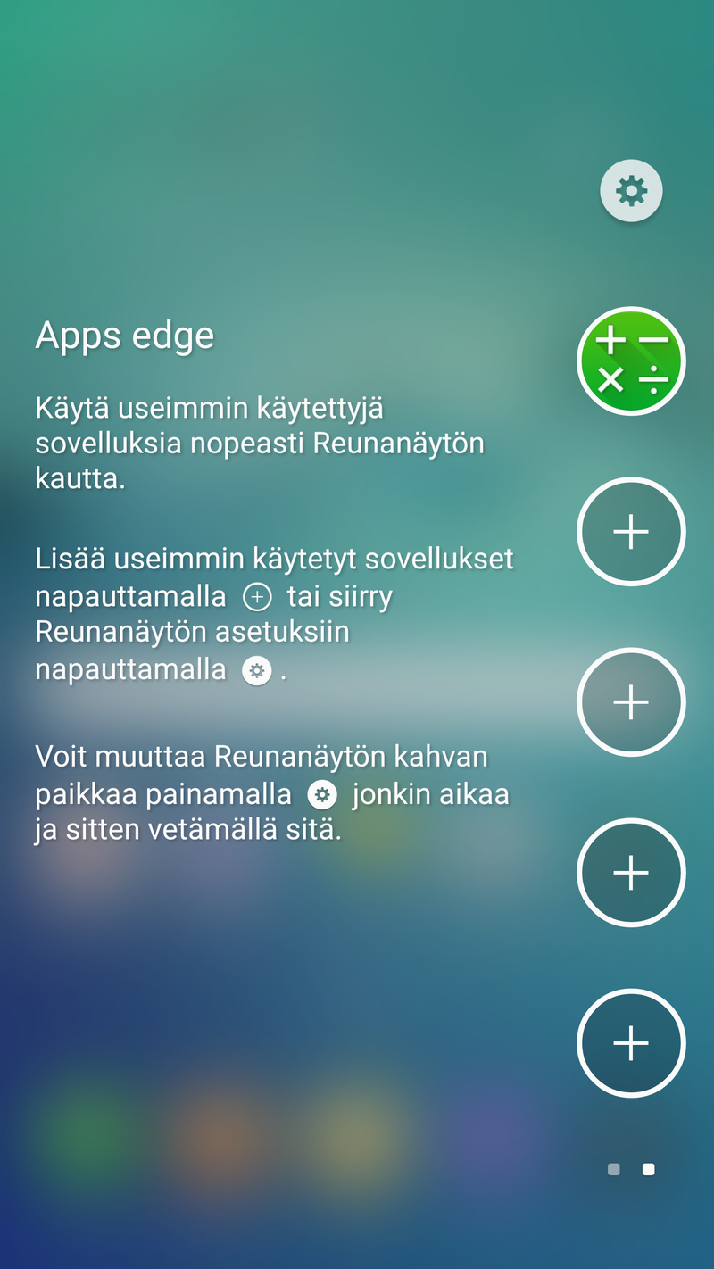 Samsung Galaxy S6 edge+ - Apps Edge