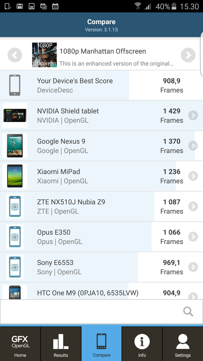 Samsung Galaxy S6 edge+ - suorituskykytesti