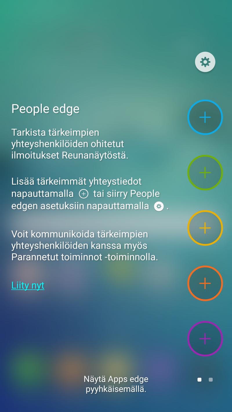 Samsung Galaxy S6 edge+ - People Edge