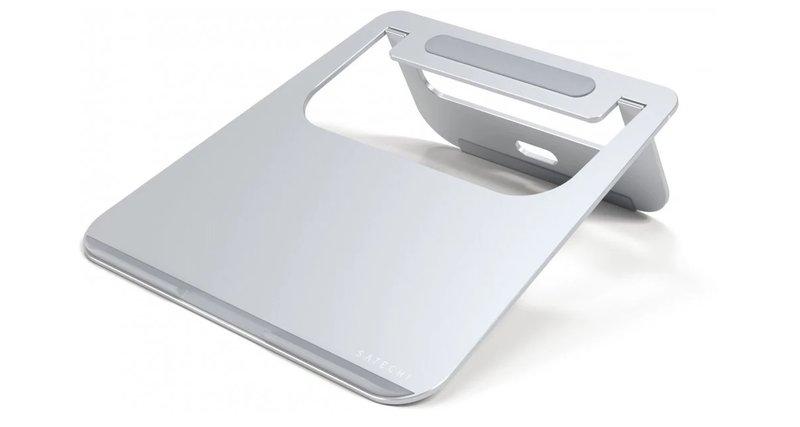 Alumiininen teline kannettavalle tietokoneelle